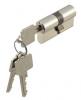 Profil-Doppelzylinder Messing vernickelt 27/40 mm gleichschließend S1, 3 Schlüssel - More 1