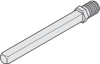 Wechselstift 8 mm M12 für Türdicke 53-72 mm