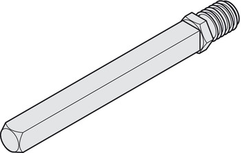 FS-Wechselstift 9 mm M12 für Türdicke 53-72 mm