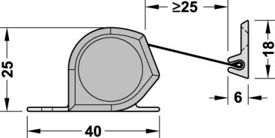 ATHMER Fingerschutzprofil NR-25