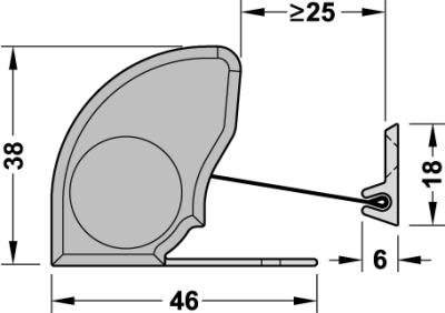 ATHMER Fingerschutzprofil NR-38