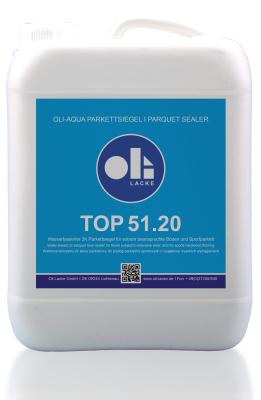 Oli-Aqua Top 2K Parkettsiegel 51.20 5 Ltr
