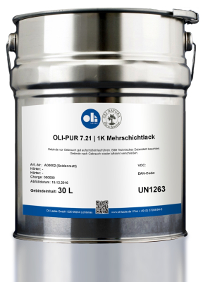 Oli-Pur Spritzlack 7.21.3 SM 10 Ltr