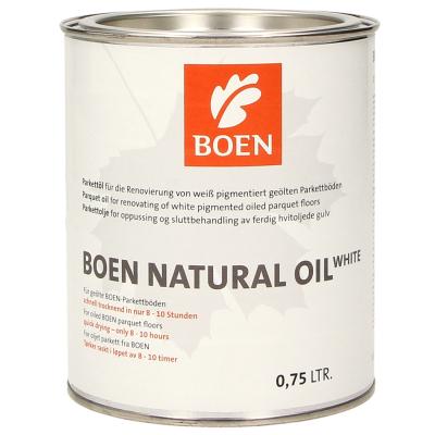 Parkettzubehör BOEN Naturöl weiß pigmentiert 0,75L