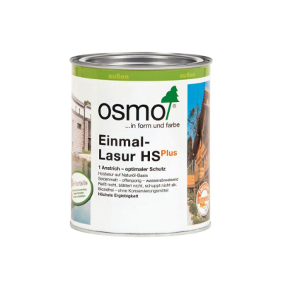 Osmo-Einmallasur Tannengr.9242 0,75 ltr