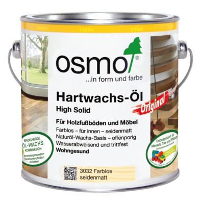 Osmo-Hartwachsöl farblos 3032 2,50 ltr