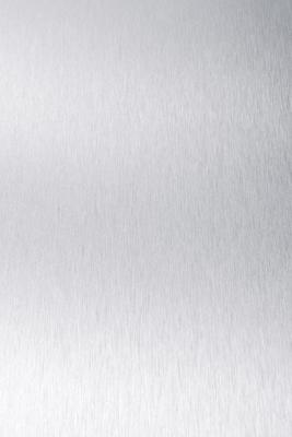 A350 /weiß Dekorspan 19mm Alu Silberfarben
