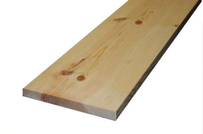 28x285mm Ponderosa-Pine Glattkantbretter