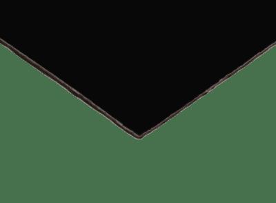 Gegenzug - HPL   schwarz-matt  0,8 mm