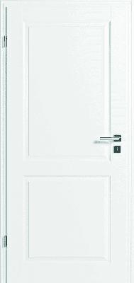 JELD-WEN Tür StibaPlus 2F Weißlack DIN LI