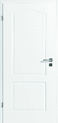 JELD-WEN Tür StibaPlus 2FB Weißlack DIN LI