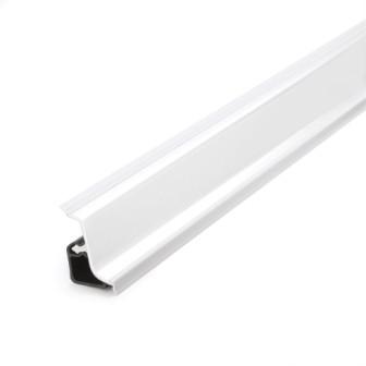 Wandanschlußleiste Aluminium inkl. Trägerleiste