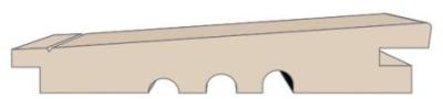24/15x146mm Keilspundprofil Sib. Lärche