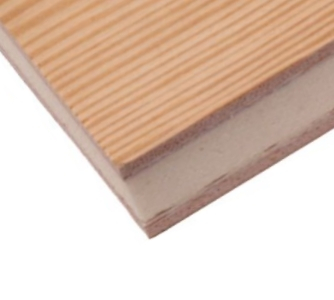Profilsperrholz 24mm Sandwichpaneel Kiefer beids.,