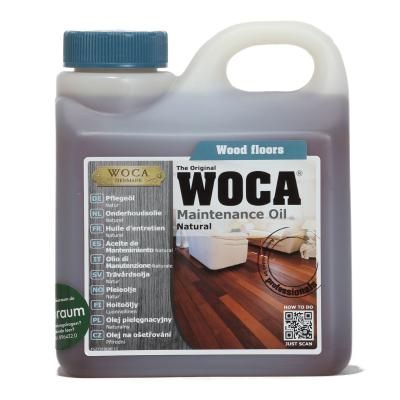 Woca Holz-Pflegeöl 1 Ltr Gebinde natur
