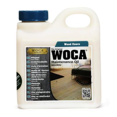 Woca Holz-Pflegeöl 1 Ltr Gebinde weiß transparent