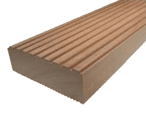 45x145mm Riffeldiele Bangkirai    FRIES-Premium-Qualität    - Detail 1