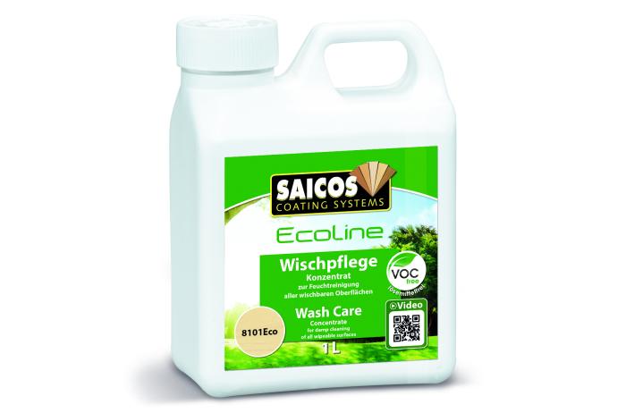 Saicos Wischpflege # 8101 1,00L Zwei Verschlusskappen genügen für 5L - Detail 1