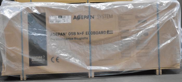 Abdeckhaube für OSB 2700mm lang LDPE-Y-Abdeckhaube, transparent - Detail 1