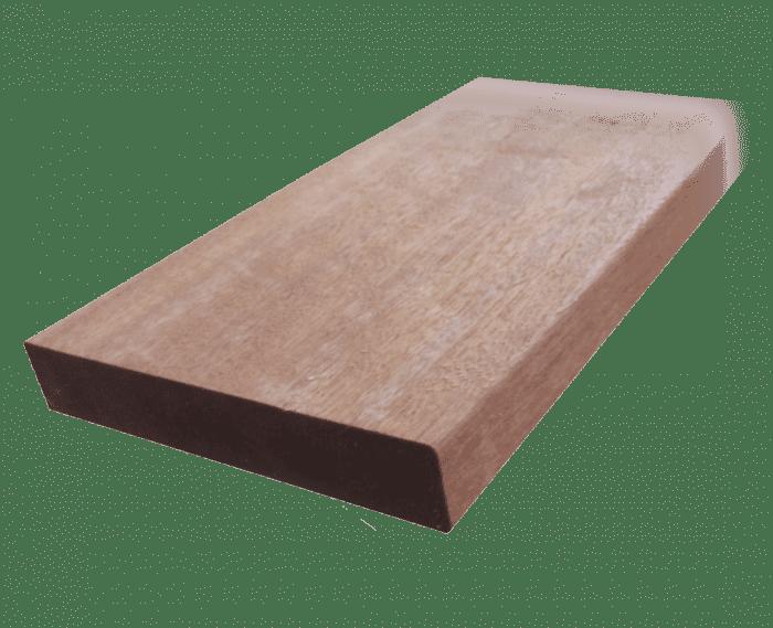 25x145mm Terrassendiele Bangkirai glatt/glatt    FRIES-Premium-Qualität    - Detail 1