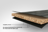 B3002 MA Dekorspan 19mm Limfjord Matt weiß 2800x2070 Innovus Möbelspanpl.MK,E1, D-s2,d0 - More 3