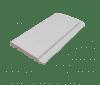Rundprofil Fichte A wachs 14,0x121mm - 4,2m Aqua intensiv weiß transp., 7 Stck./Bd. - More 3