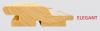 27x96mm Sib. Lärche Trendliner kieselgrau - Elegant - Rund - gehobelt - More 5