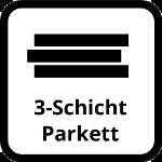 3-Schicht Parkett Icon